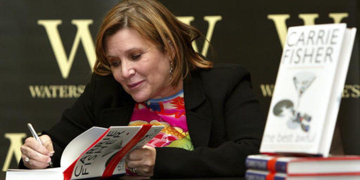 Libros de Carrie Fisher se convierten en los más vendidos