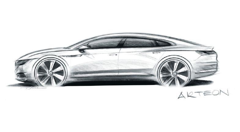 Sin duda de los autos más bonitos es el CC y por ahora lleva el nombre de Arteon. | Volkswagen