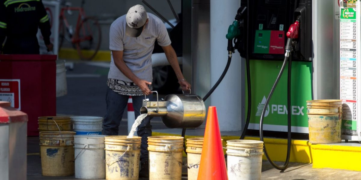 Tanque lleno pasa a la historia por gasolinazo 2017