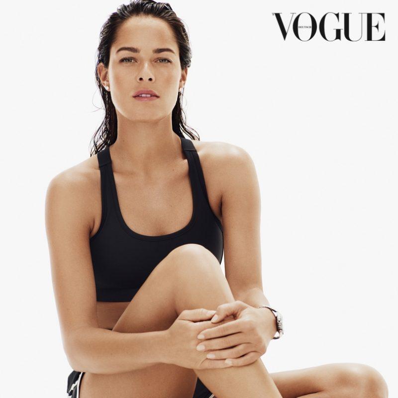 Ana Ivanovic. Imagen Por: Vogue