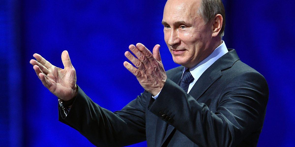 Vladimir Putin rompe su récord de aprobación, llega al 86.8%