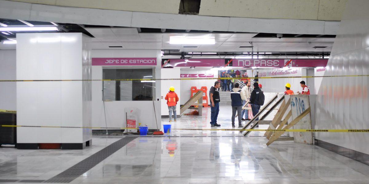 Encuentran en Metro de la CDMX cuerpo en descomposición