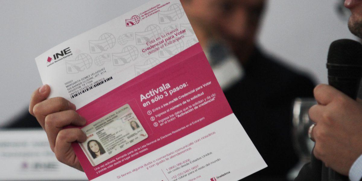INE entregó 14.8 millones de credenciales en 2016