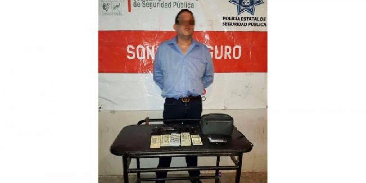 Detienen en Sonora a presunto jefe de plaza de los Beltrán Leyva