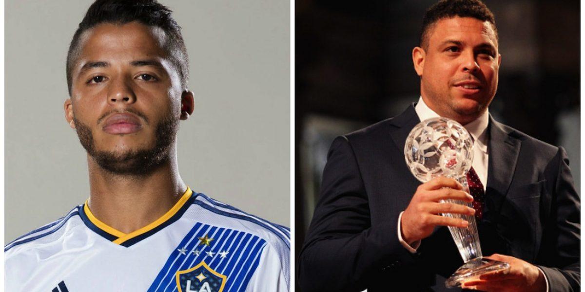 Giovani Dos Santos y Ronaldo lanzarán escuelas de futbol en México