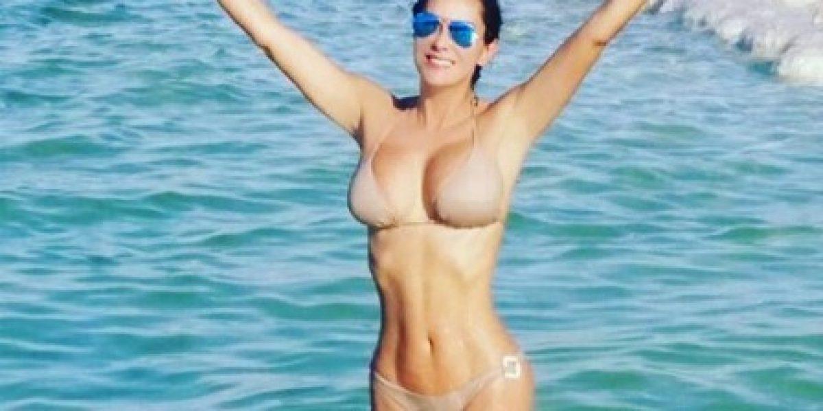 Ninel Conde responde a las críticas con sensual sesión de fotos en bikini