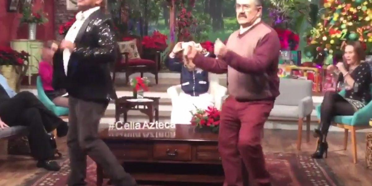 Lady Wuuu y Pedro Sola bailaron al ritmo de Claridad de Menudo