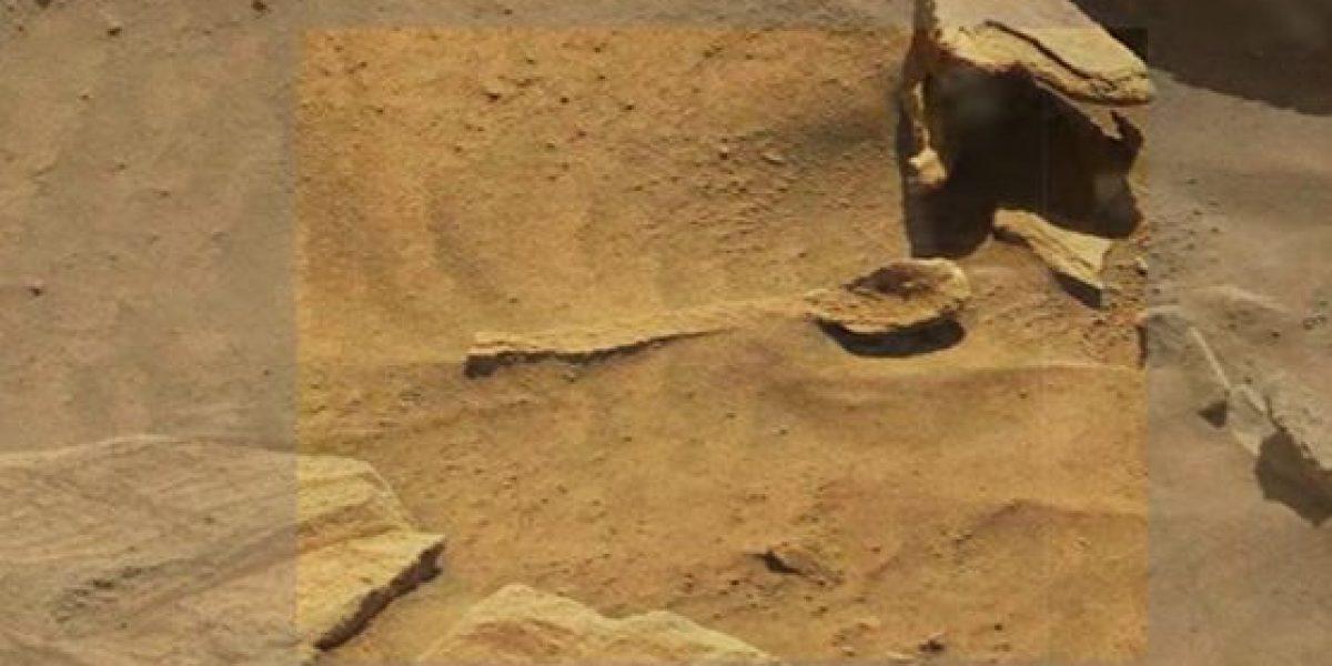 NASA sorprende con foto de supuesta cuchara en Marte