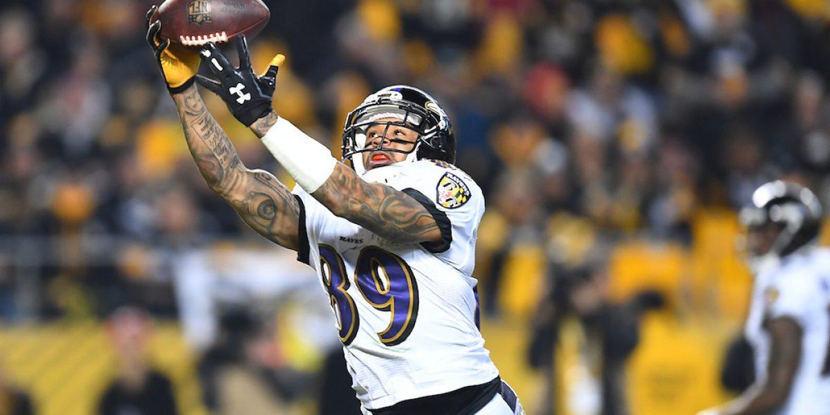 Receptor Steve Smith de Cuervos de Baltimore se retira de la NFL