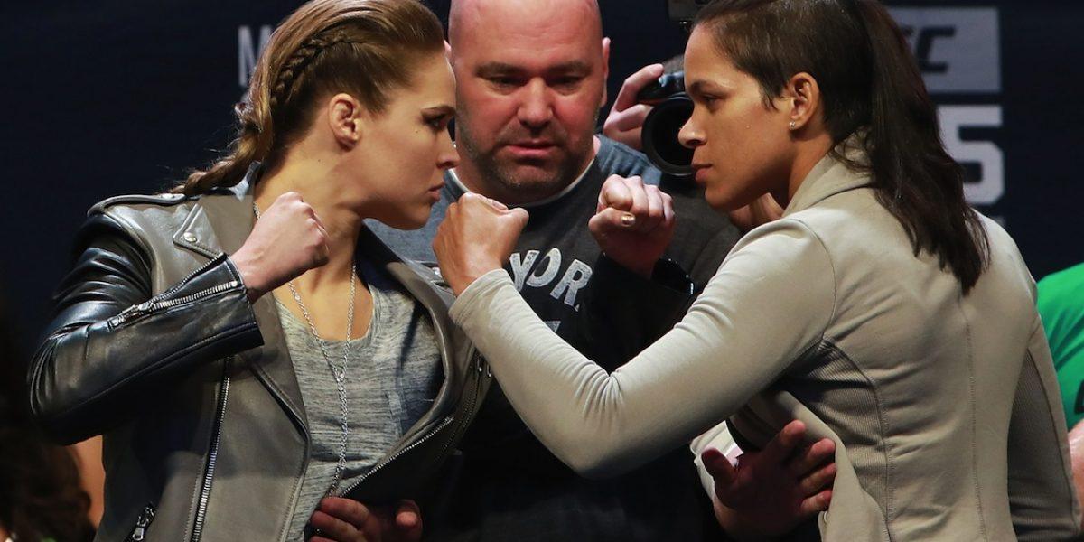 VIDEO: Amanda Nunes le da con todo a Ronda Rousey