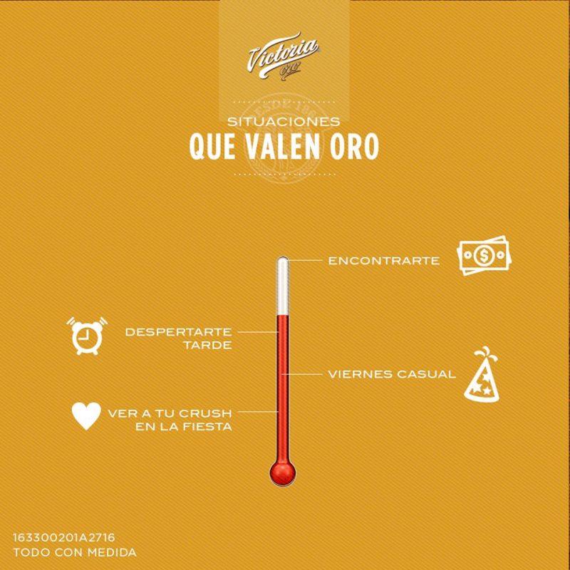 01-cerveza-victoria-oro. Imagen Por: Foto: Facebook Cerveza Victoria Oficial