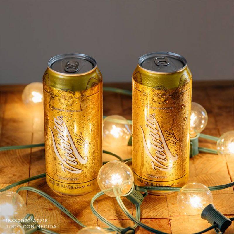 04-cerveza-victoria-oro. Imagen Por: Nueva Victoria Oro Edición Limitada, una deliciosa cerveza tipo Lager inspirada en la receta de 1910 | Foto: Facebook Cerveza Victoria Oficial.