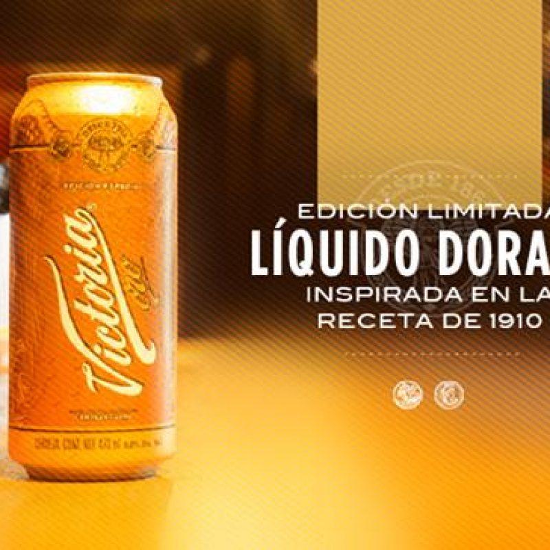 07-cerveza-victoria-oro. Imagen Por: Nueva Victoria Oro Edición Limitada, una deliciosa cerveza tipo Lager inspirada en la receta de 1910 | Foto: Facebook Cerveza Victoria Oficial.