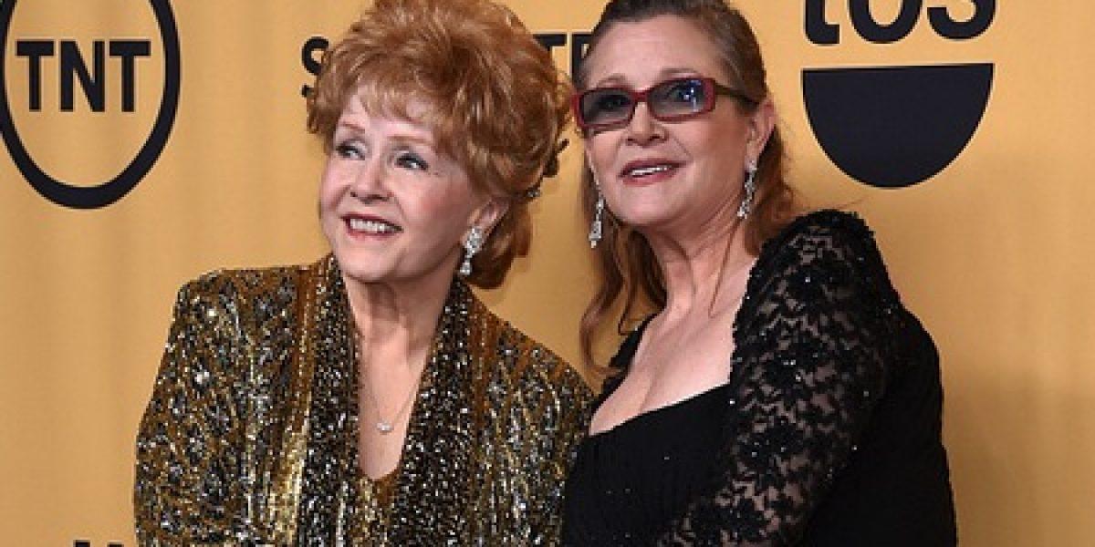 Celebrarán en forma conjunta y privada funerales de Carrie Fisher y su madre