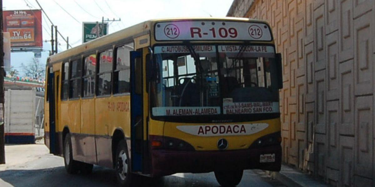 Analizarán aumento a tarifas de transporte público en Nuevo León