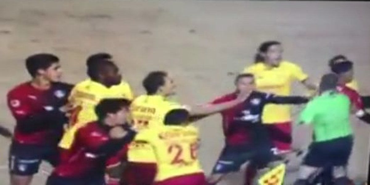VIDEO: Suspenden partido amistoso entre Morelia y Atlas por pelea