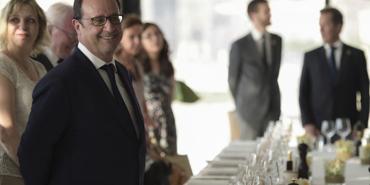 Presidente de Francia desafía a Trump en mensaje de fin de año