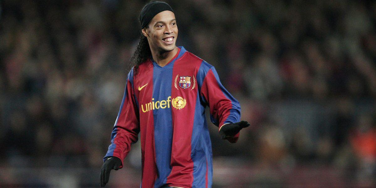 ¡Se cortó el cabello! Ronaldinho sorprende con cambio de look