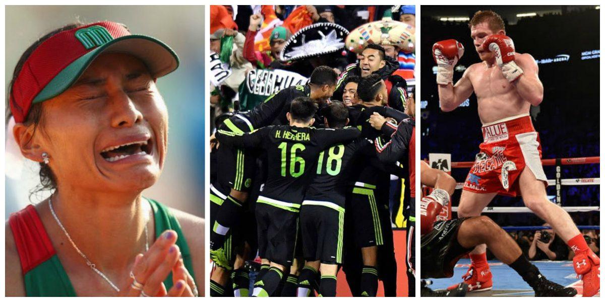 Los momentos más emotivos de los deportistas mexicanos en el 2016
