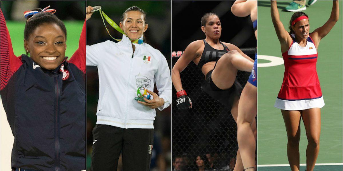 FOTOS: Las chicas deportistas más destacadas del año 2016