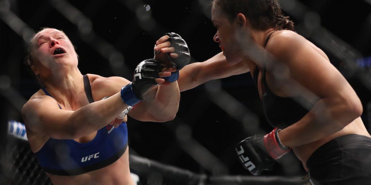VIDEO: Ronda Rousey es noqueada en su regreso a la UFC