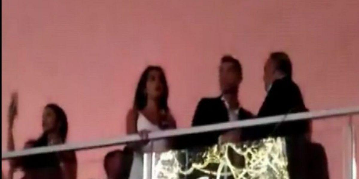 VIDEO: Cristiano pasa el Año Nuevo en Portugal con su novia