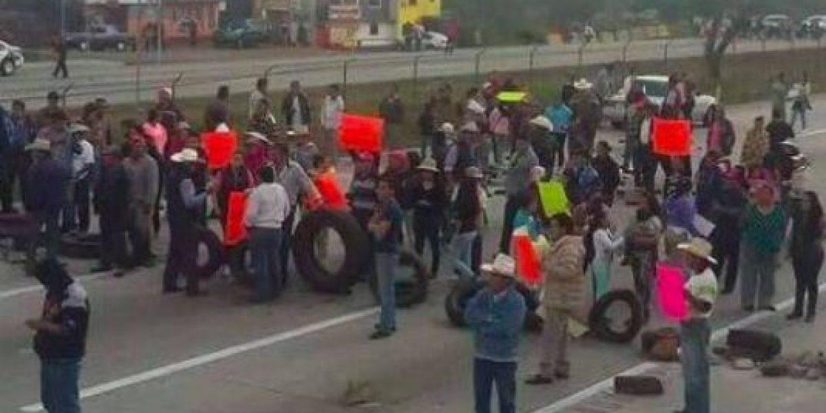 Reabren la México-Querétaro tras bloqueo por gasolinazo