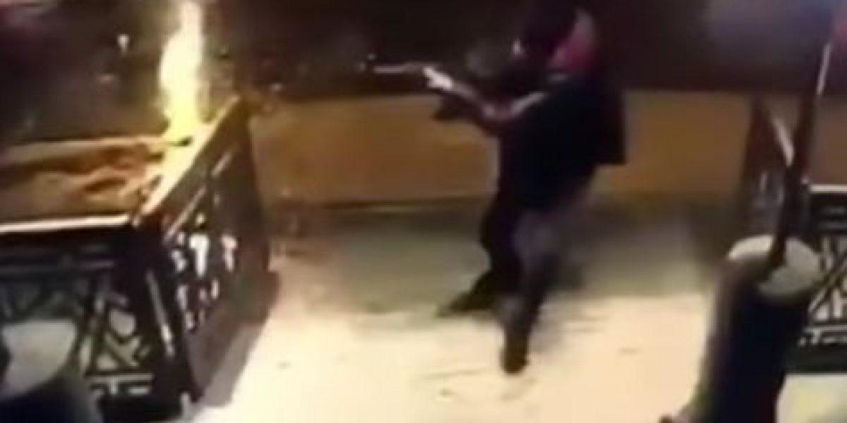 Revelan video de ataque en club nocturno de Estambul, Turquía