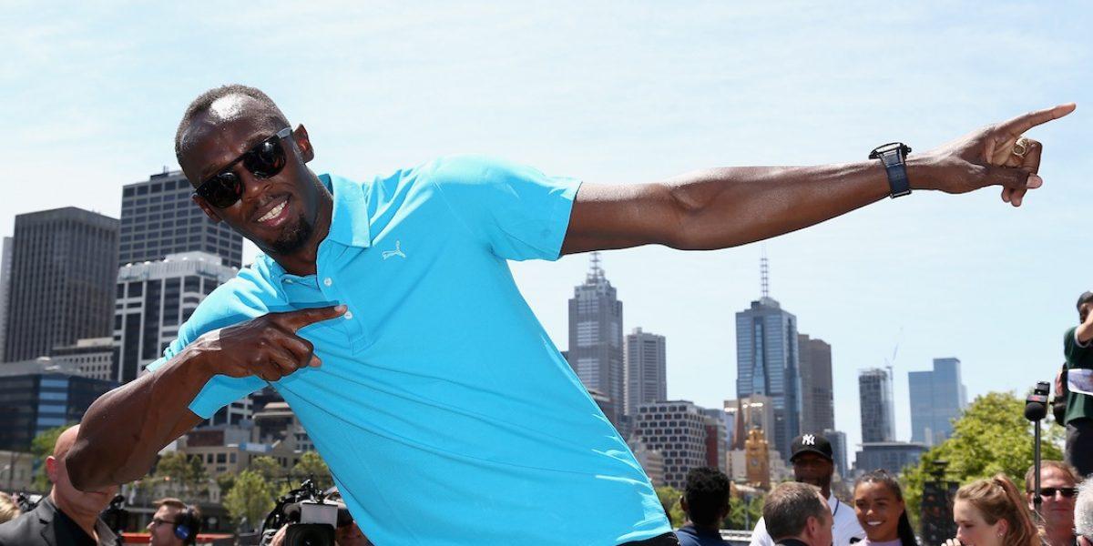 VIDEO: Usain Bolt llama a programa de TV del Manchester y nadie le creé