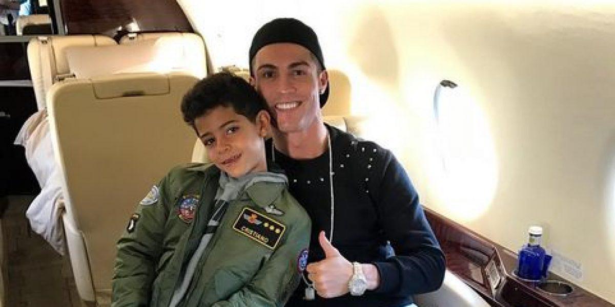 Cristiano Ronaldo denuncia bullying hacia su hijo