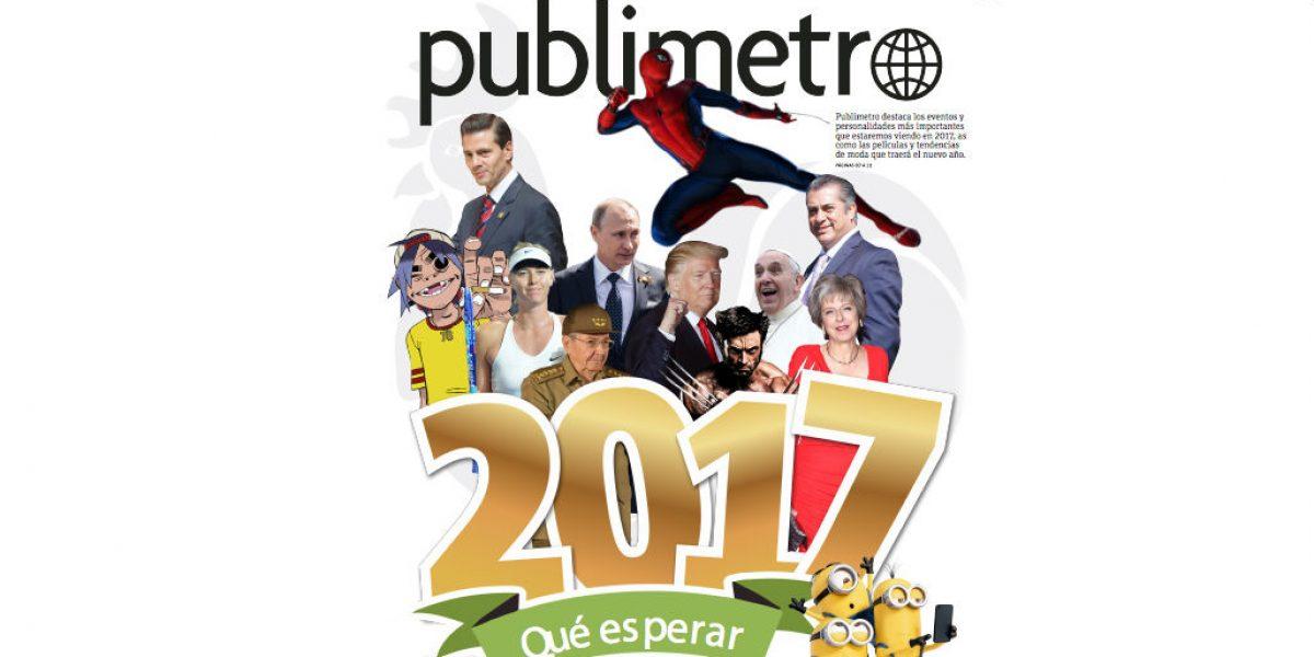 Feliz 2017 desde Publimetro