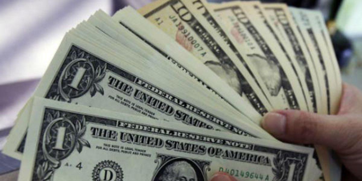 Dólar se vende hasta en 21.16 pesos en bancos de la CDMX