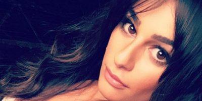 Lea Michele recibe el año nuevo completamente desnuda