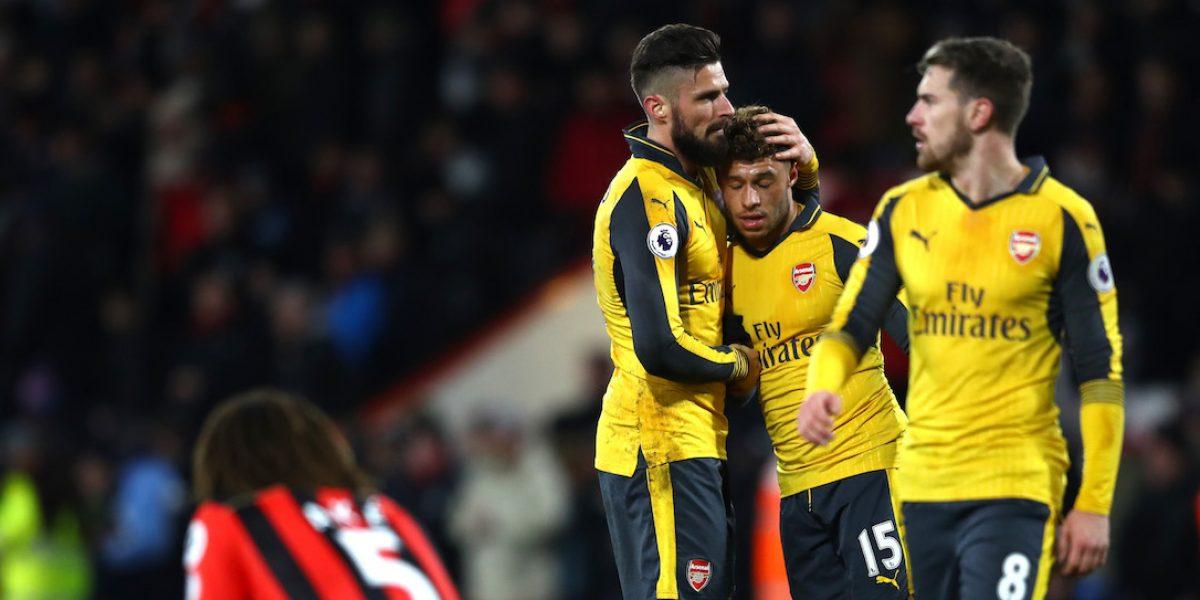Arsenal rescata el empate tras desventaja de tres goles