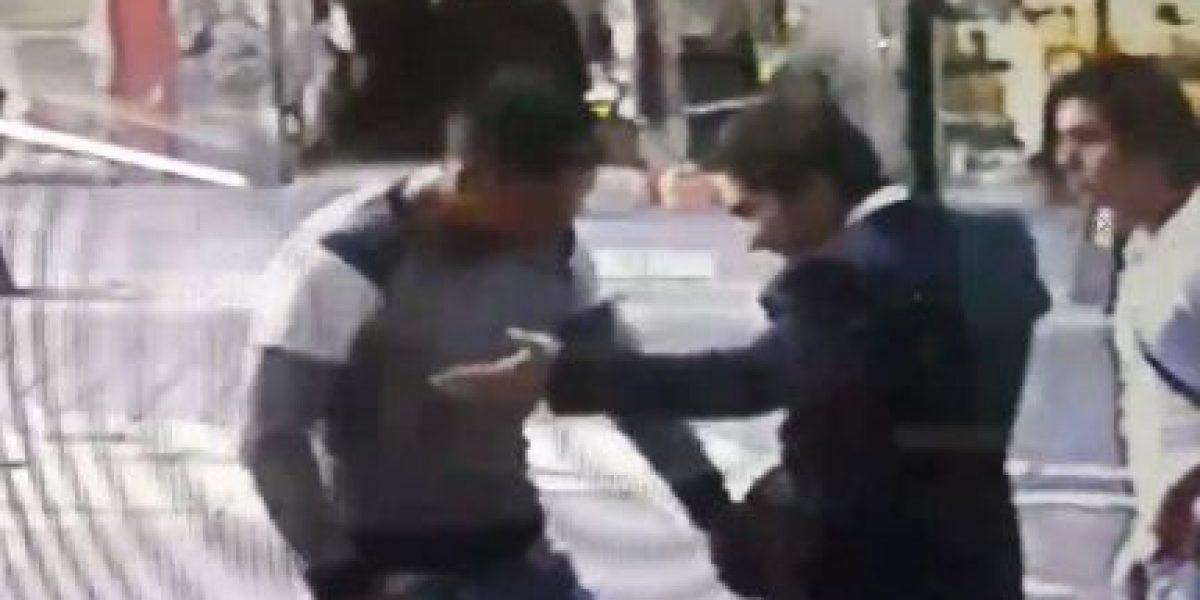 Captan asalto en el Centro Histórico a plena luz del día