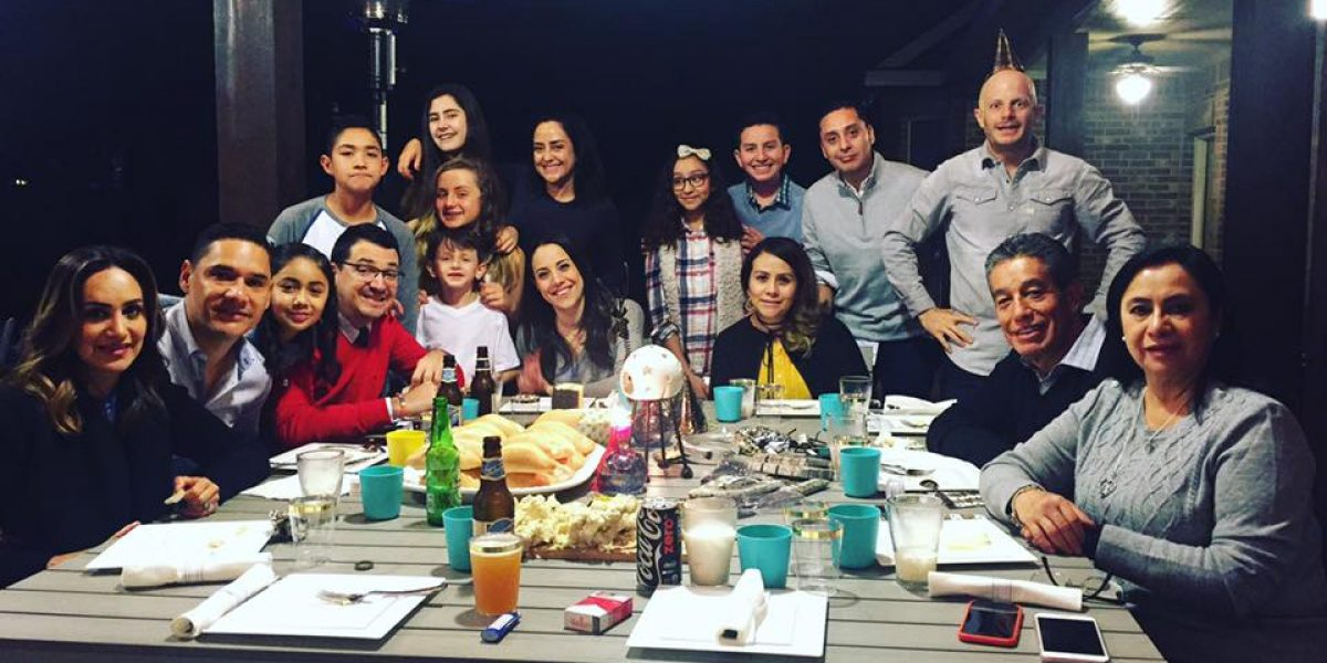 Moisés Muñoz pasó las vacaciones con Facundo y su familia