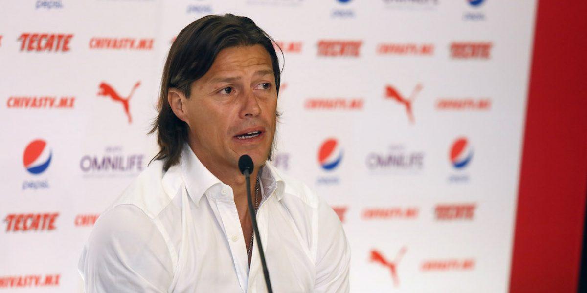 Matías Almeyda revela que es realista con Jorge Vergara