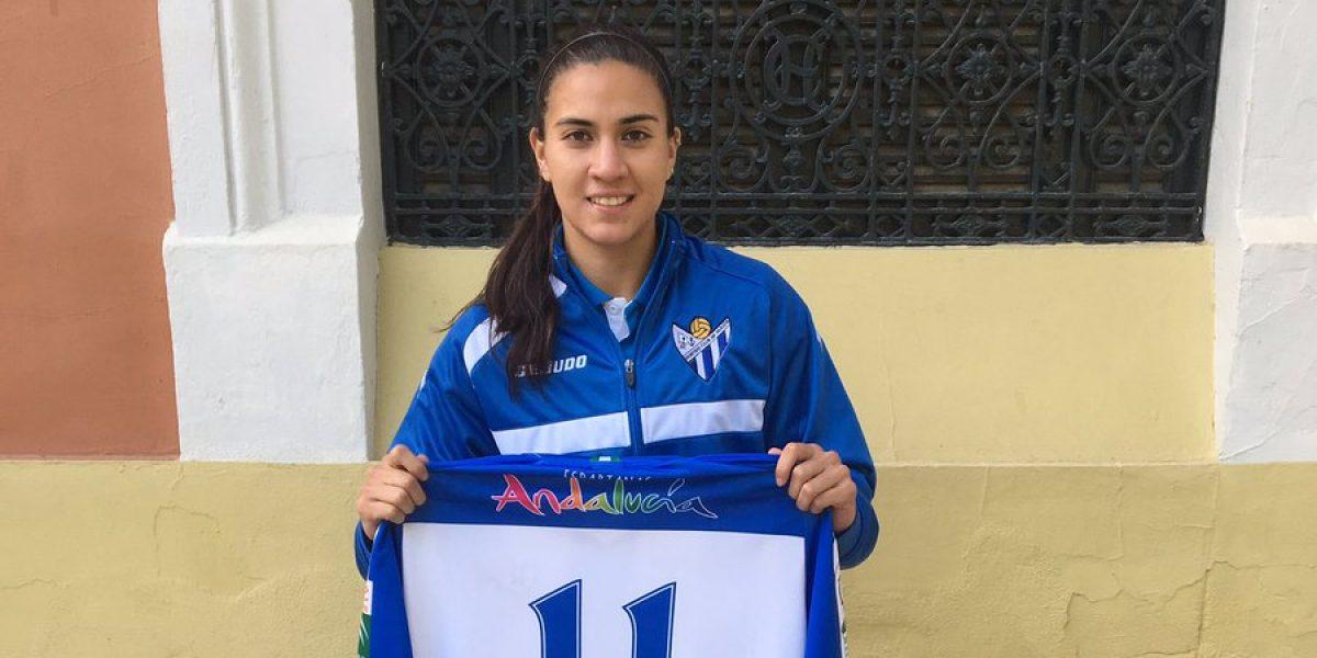 Nayeli Rangel afirma que cumple un sueño al jugar en España