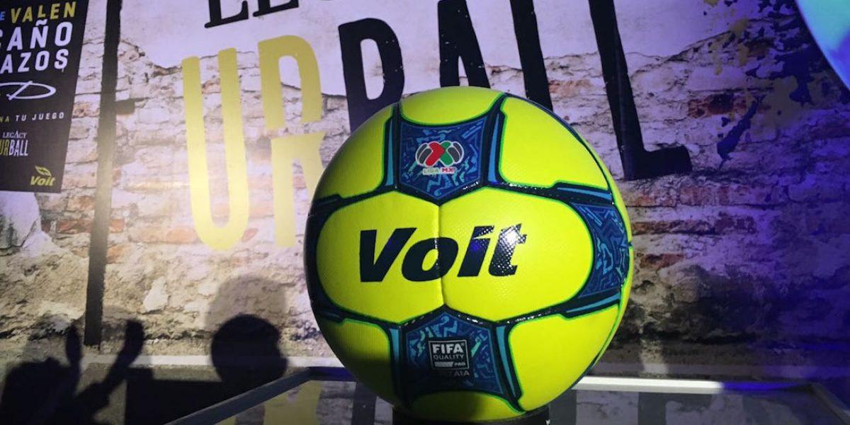 Presentan el Legacy Urball, balón oficial de la Liga MX