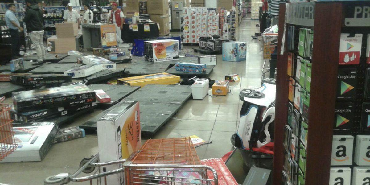 VIDEO: Saquean tienda comercial en el Edomex durante manifestaciones
