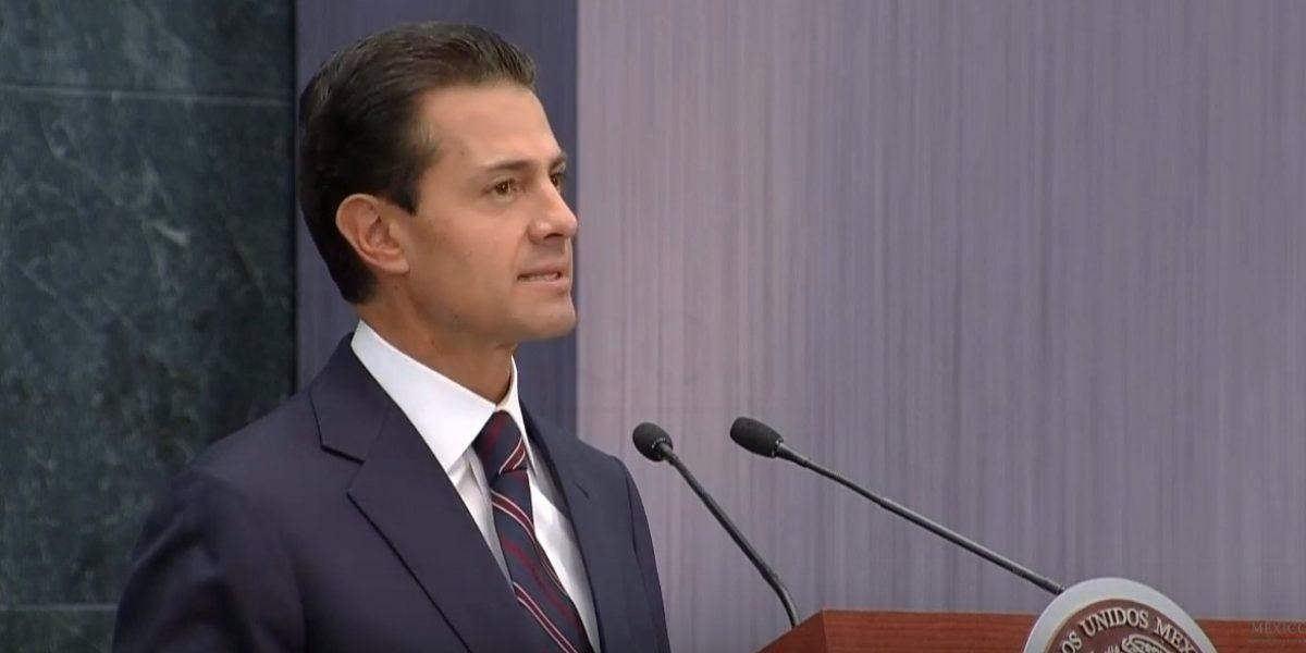 Peña Nieto entiende el enojo pero no hay marcha atrás al