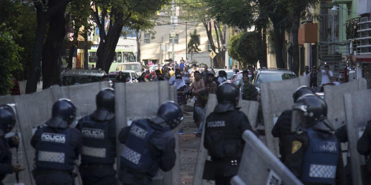 Suman 250 detenidos por actos vandálicos en tres estados: Segob