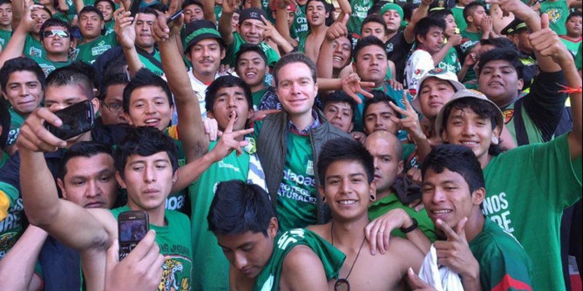 Manuel Velasco, gobernador de Chiapas pide a Jaguares no más deudas