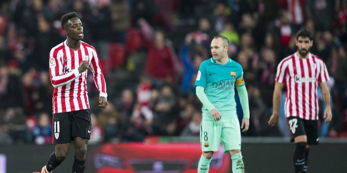 Barcelona inicia el 2017 con una derrota ante el Athletic