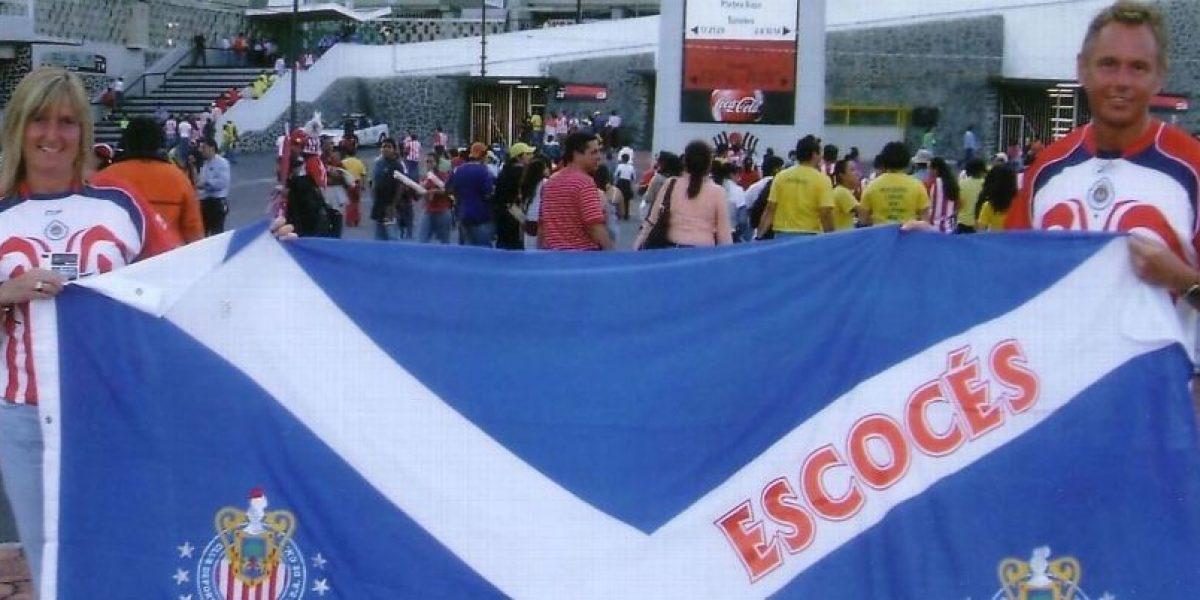 Aficionado escocés, el más fiel seguidor de las Chivas