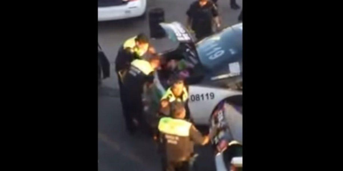 Separan de su cargo a policías que participaron en saqueo