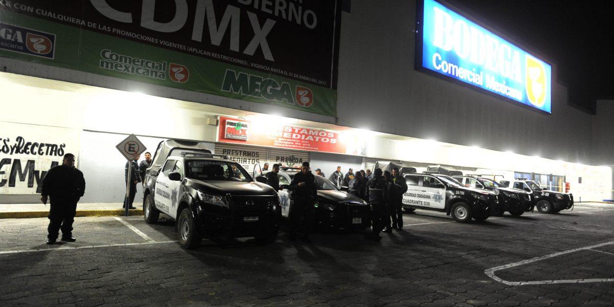Aumentan seguridad y operativos en Estado de México