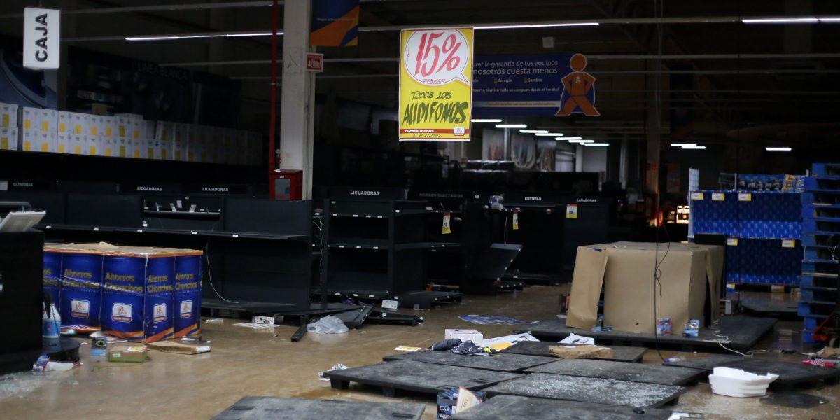 250 tiendas fueron saqueadas en su totalidad: ANTAD