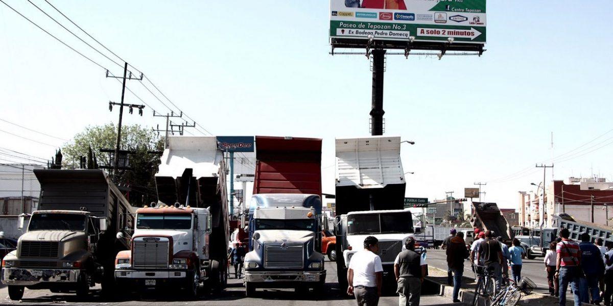 SCT revocará permisos a transportistas que participen en bloqueos