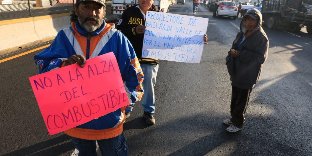 Gasolinazo: autopistas del país registran presencia de manifestantes